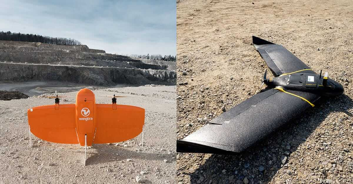 wingtraone vs ebee x - which is a better drone for surveying?