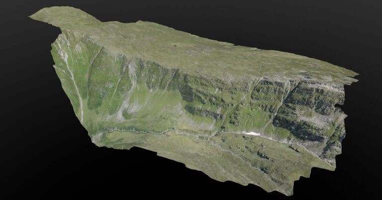 3D reconstruction Swiss Alps