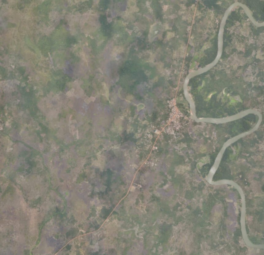 Large-scale RGB drone mapping output from TOGO mapping project