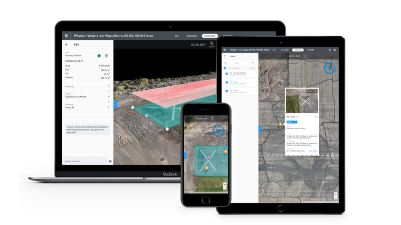 wingtraone and drone deploy offers an end-to-end drone mapping solution