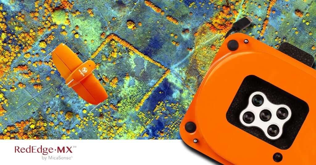WingtraOne mapping drone and multispectral camera RedEdge MX