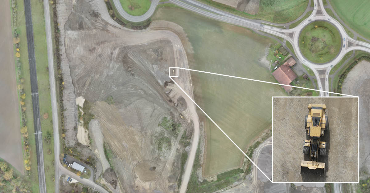 aerial imagery with low GSD