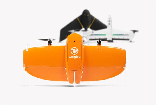 fixed-wing drones and multicopters for photogrammetry