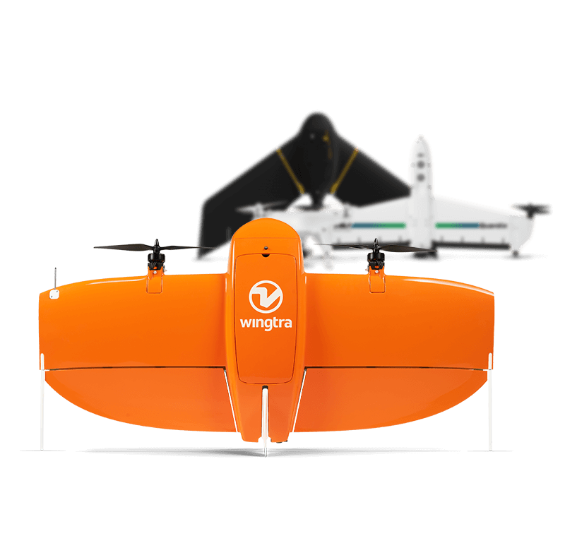 Fixed-wing drone comparison with quadcopters