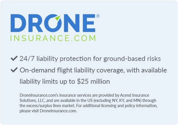 Drone Insurance banner