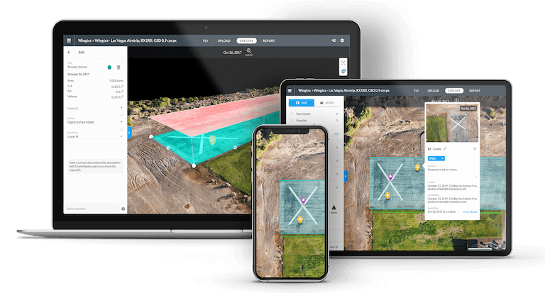 DroneDeploy Cloud-base photogrammetry software