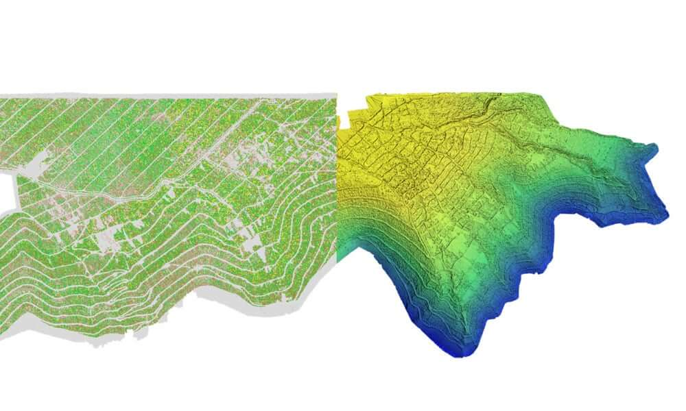 A digital surface model from drone data coupled with multispectral and RGB data helps interpret variability in a field.
