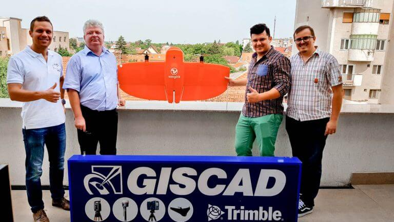 Giscad Team and Wingtra