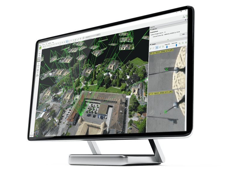 Drone software Pix4D mapper