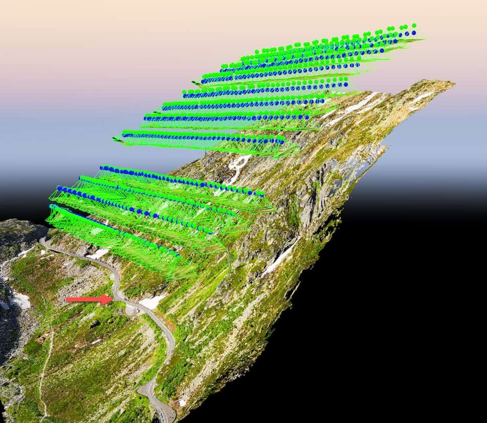Pixmap 3D map mountain