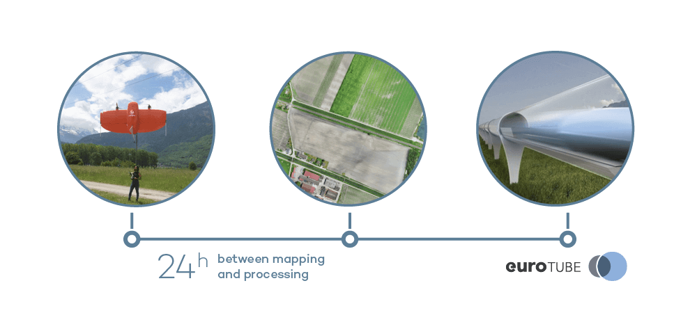 Pre-construction drone survey in 24 hours