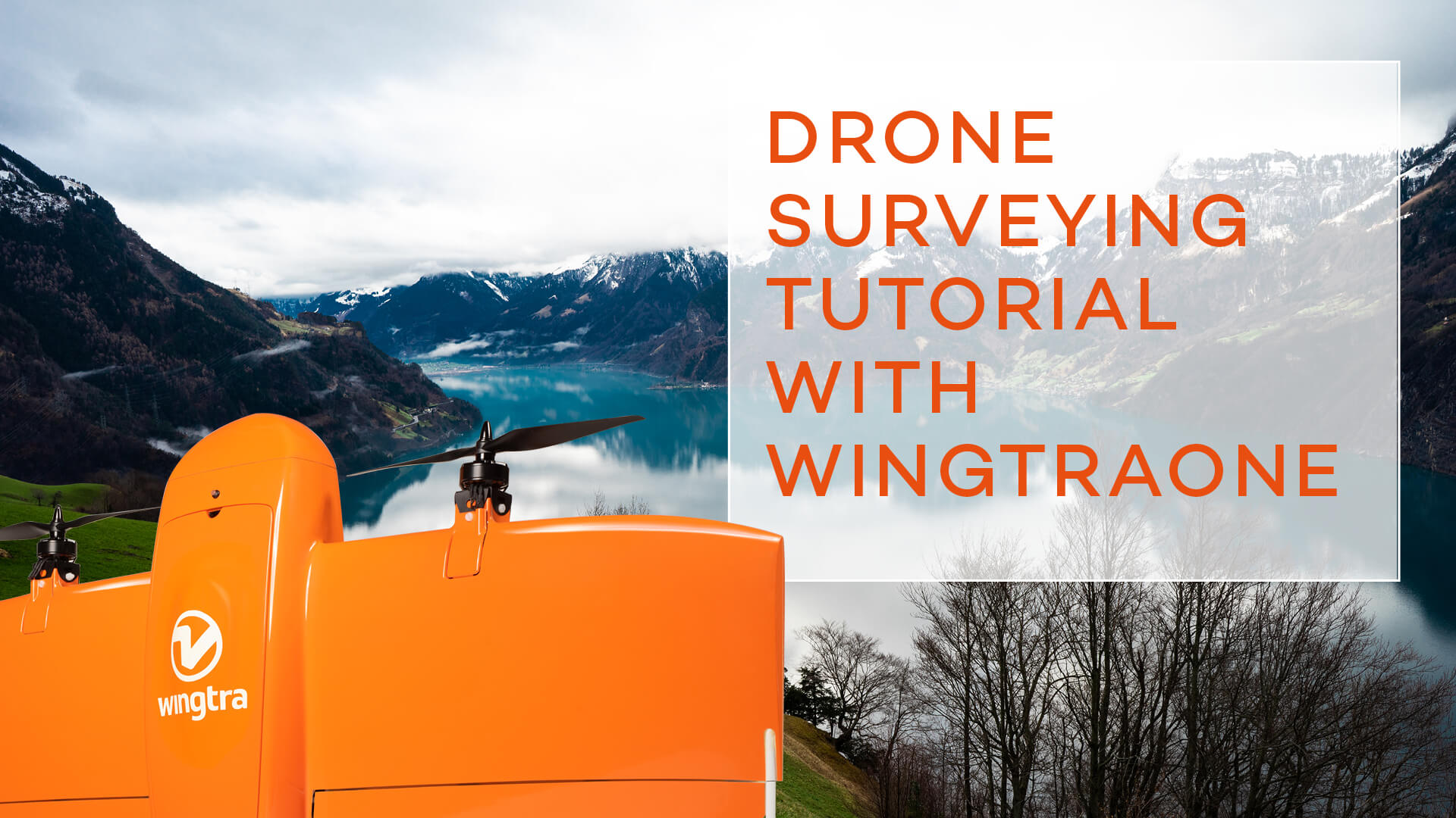 Drone surveying tutorial with WingtraOne