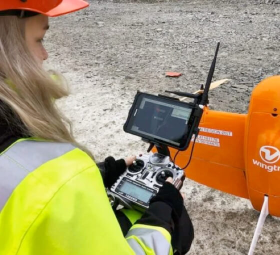 Surveyor mapping with WingtraPilot
