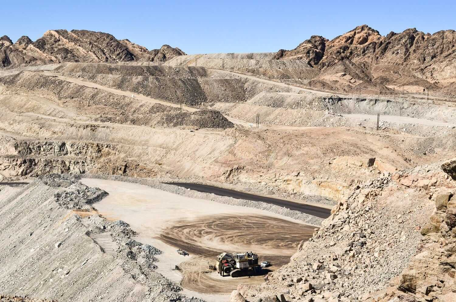 Uranium mine in Namibia