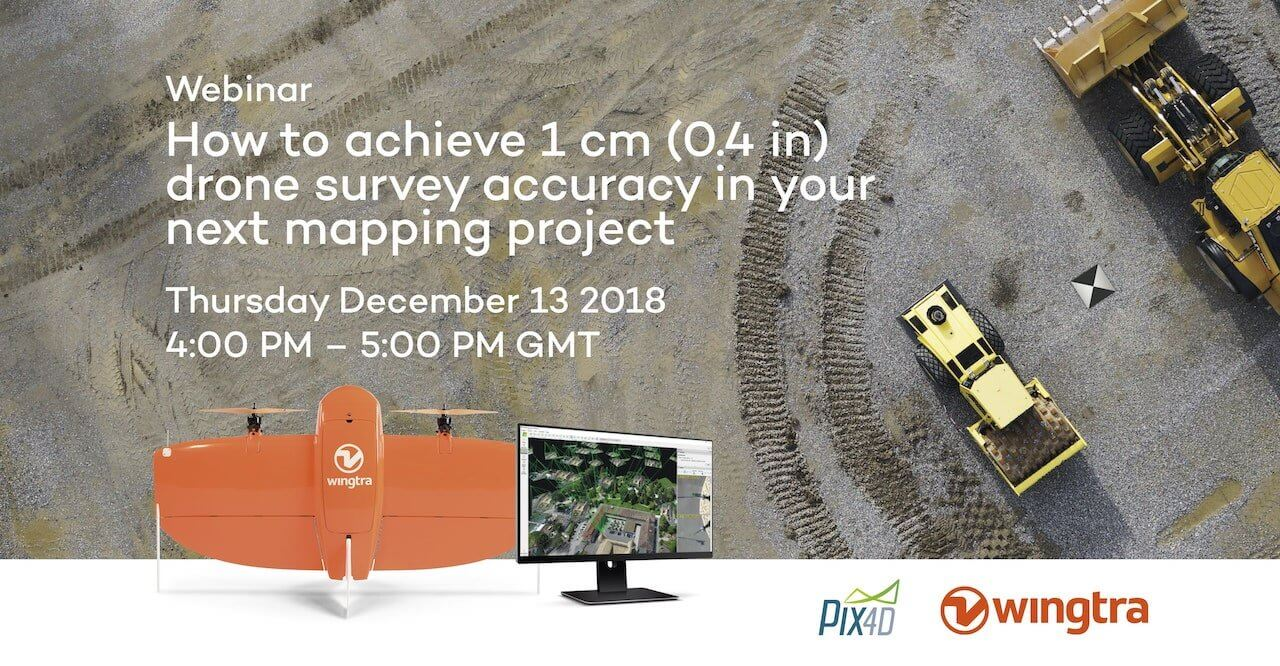 4d197967198 Webinar: How to achieve 1 cm drone survey accuracy in your next ...