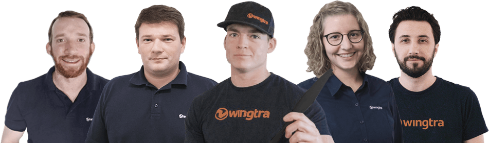 Wingtra support team