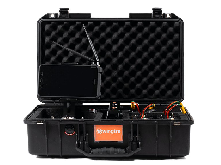 WingtraOne drone ground station
